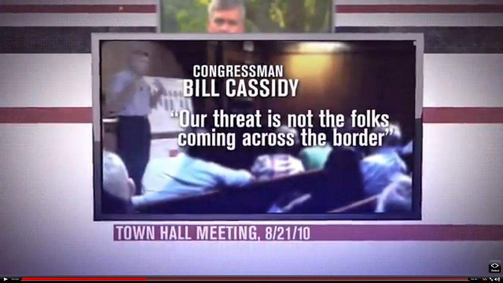 Bill Cassidy and Mary Landrieu both dinged for false ads _lowres