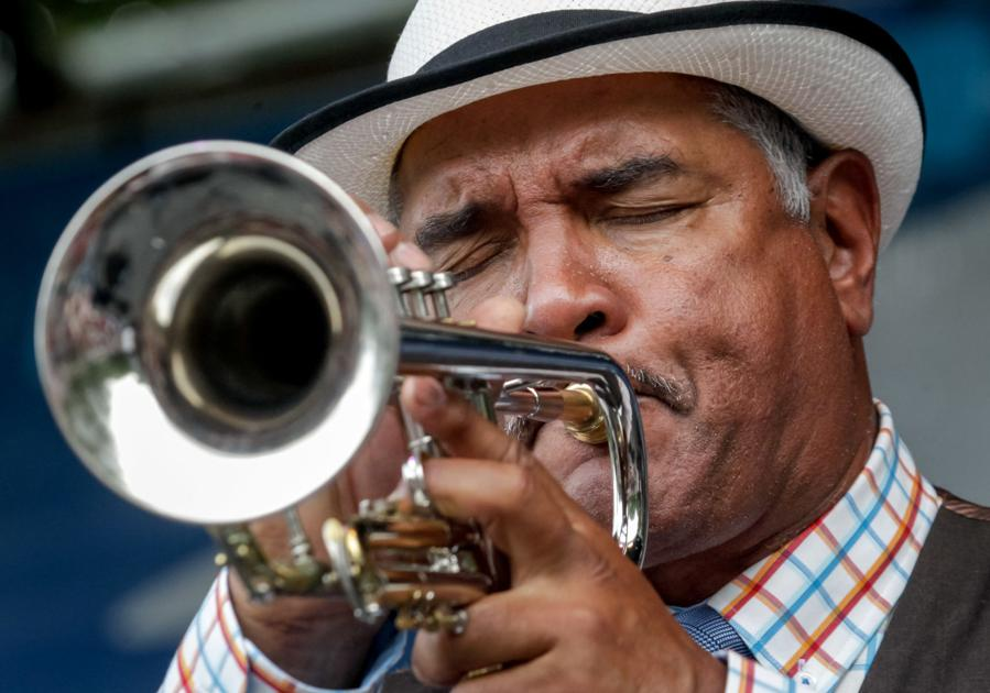New Orleans trumpeter celebrates personal rebirth at French Quarter Festival