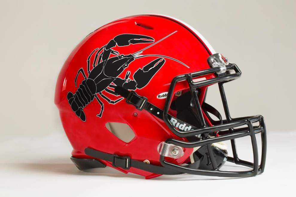 Ragin' Cajuns' 'crawfish helmet' is just an April Fool's gag ... but maybe it shouldn't be _lowres