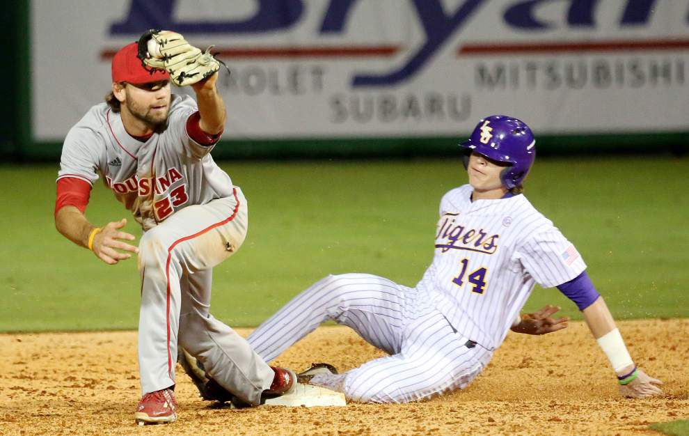 Late-blooming Brody Wofford surges into LSU's starting lineup after clutch hits _lowres