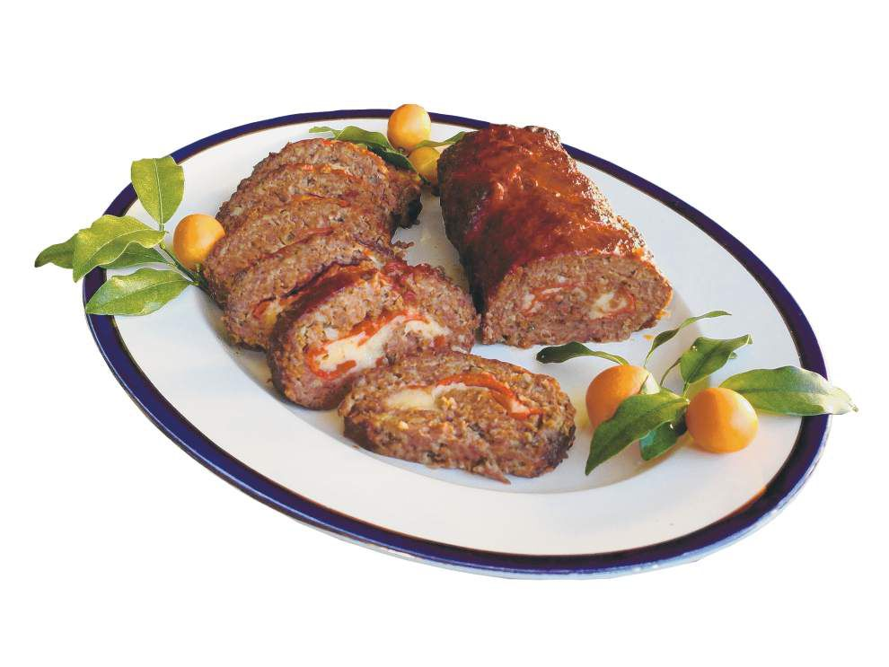 Stuffed Italian Meatloaf _lowres