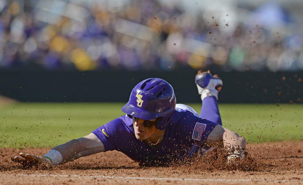 'He's on the verge of becoming awesome': Greg Deichmann's rapid ascent leads LSU into super regional matchup with Coastal Carolina _lowres