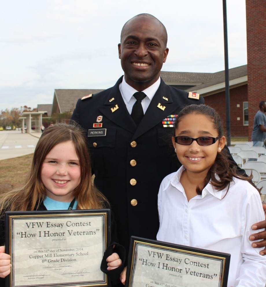 Copper Mill celebrates Veterans Day _lowres
