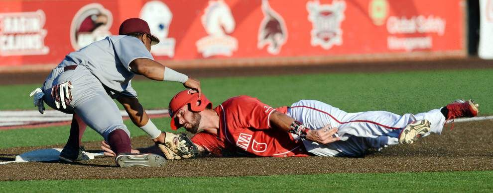 Dylon Poncho's bases-clearing double, Gunner Leger's dominant night lead Cajuns to 5-1 win over Texas State _lowres