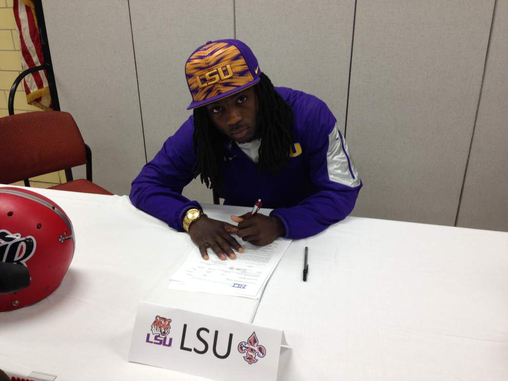 LSU signee Donte Jackson: 'I slept with the Tigers in my head' _lowres