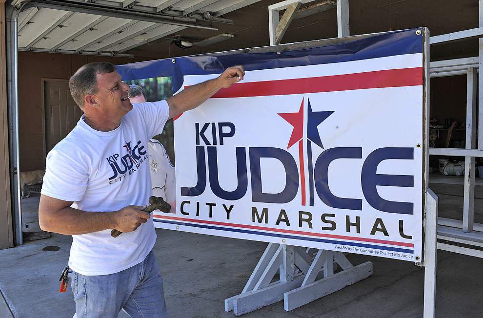 Lafayette marshal, 82, draws two challengers in re-election bid _lowres