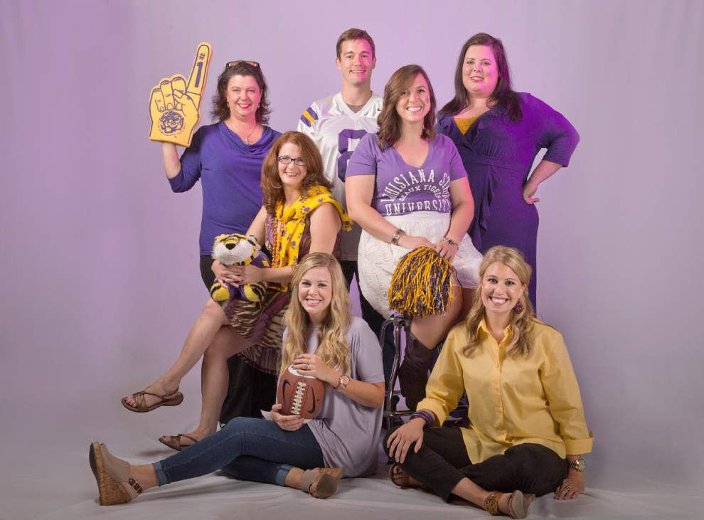 Follow The Advocate's LSU Tigers Superfans _lowres