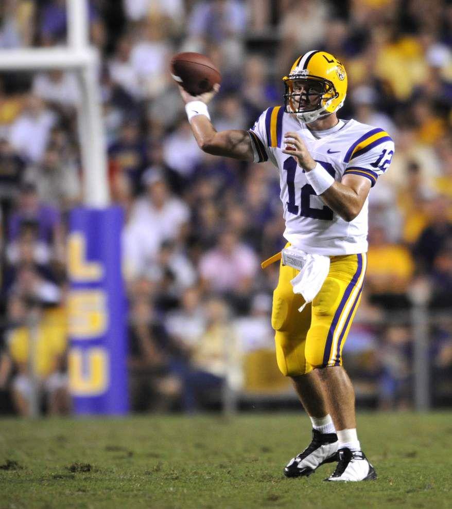 Will LSU use two quarterbacks like it did in 2008? _lowres