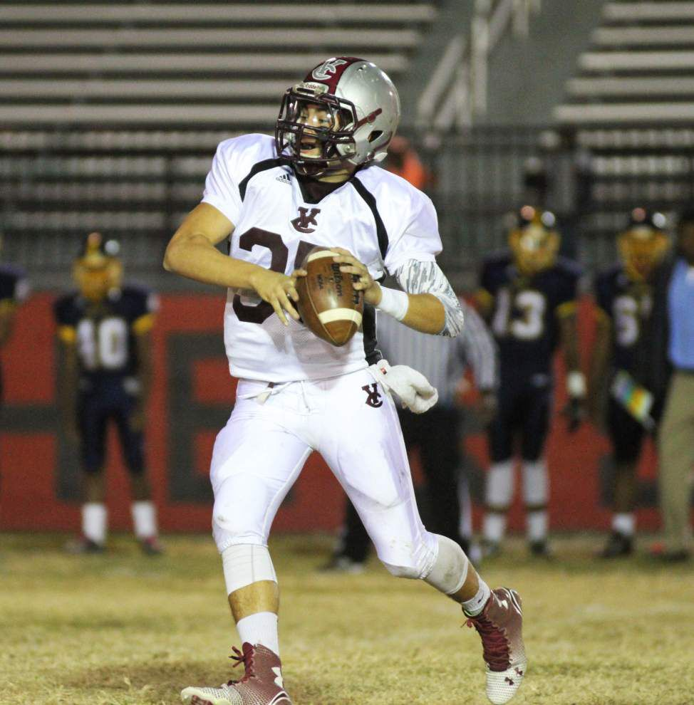 Vermilion Catholic quarterback Hunter Frith not prototypical quarterback story _lowres