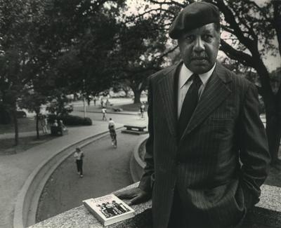1985 Press Photo Ernest Gaines, Author