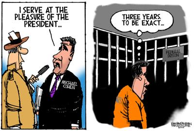 Walt Handelsman: Serving the President