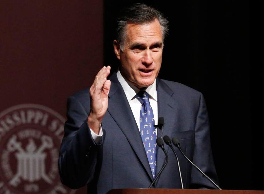 Louisiana GOP votes to censure Utah Sen. Mitt Romney over rocky relationship with Trump