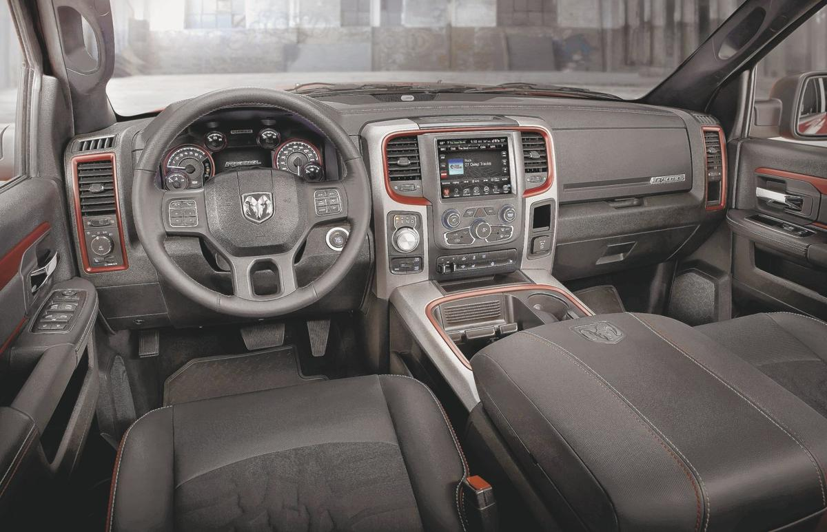 2016 RAM 1500 Rebel Crew Cab 4X4 - interior