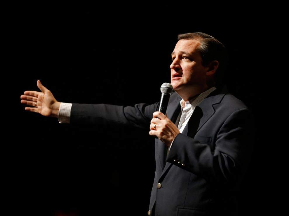 Ted Cruz set to rally Mandeville crowd; live video when candidate takes the stage _lowres