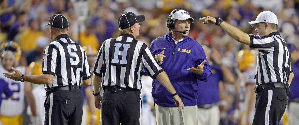 Complete audio from the Monday press conference of LSU coach Les Miles on Sept. 15. _lowres