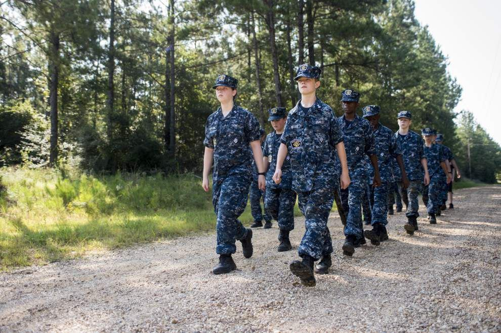 Pushing Harder: Training Ship Red Wolf works to instill leadership skills in teens _lowres