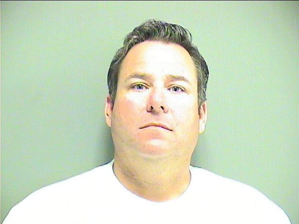 Former Peter Galvan deputy Mark Lombard booked in St. Tammany jail on theft counts _lowres