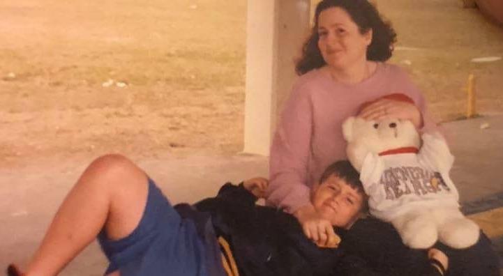 Karl and mom1