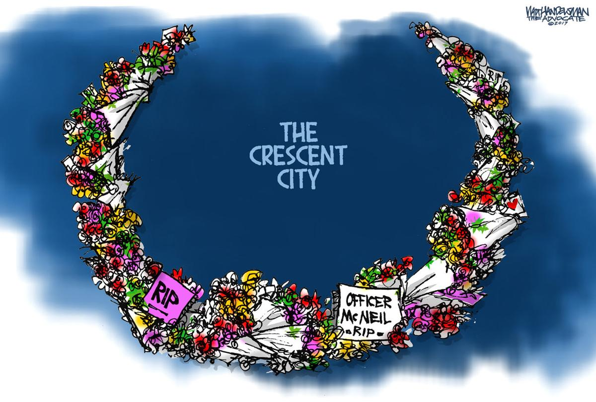Walt Handelsman: Crescent City