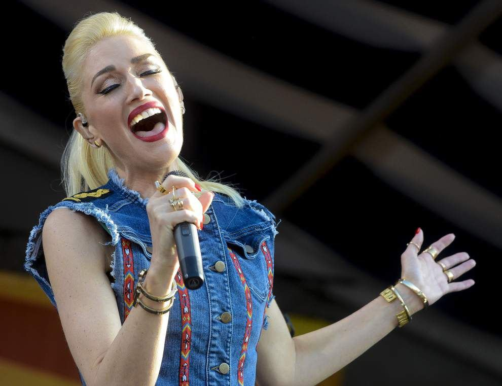 Fun, spirited day wraps up with No Doubt headlining Acura Stage at Jazz Fest _lowres