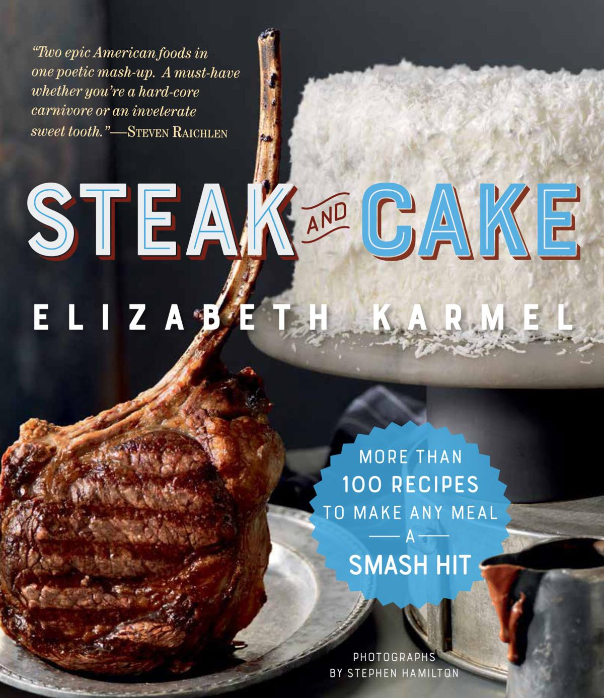 steak and cake cover