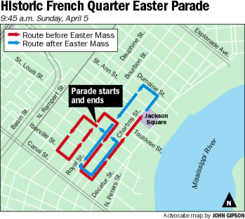 Hippity-hop down to the French Quarter for Easter parades _lowres