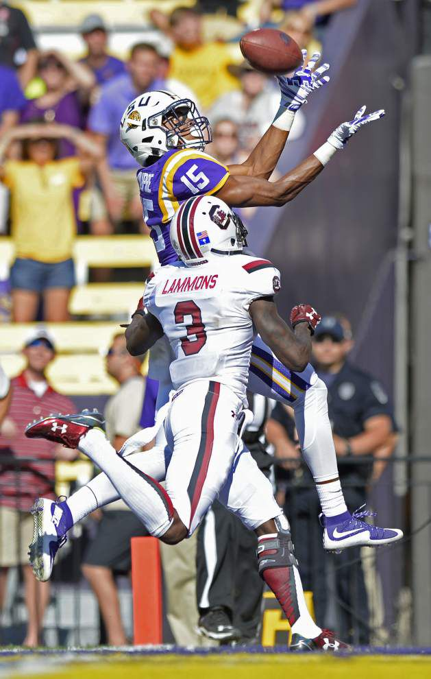 Opening eyes? LSU flashes best passing game in nearly two years against South Carolina _lowres