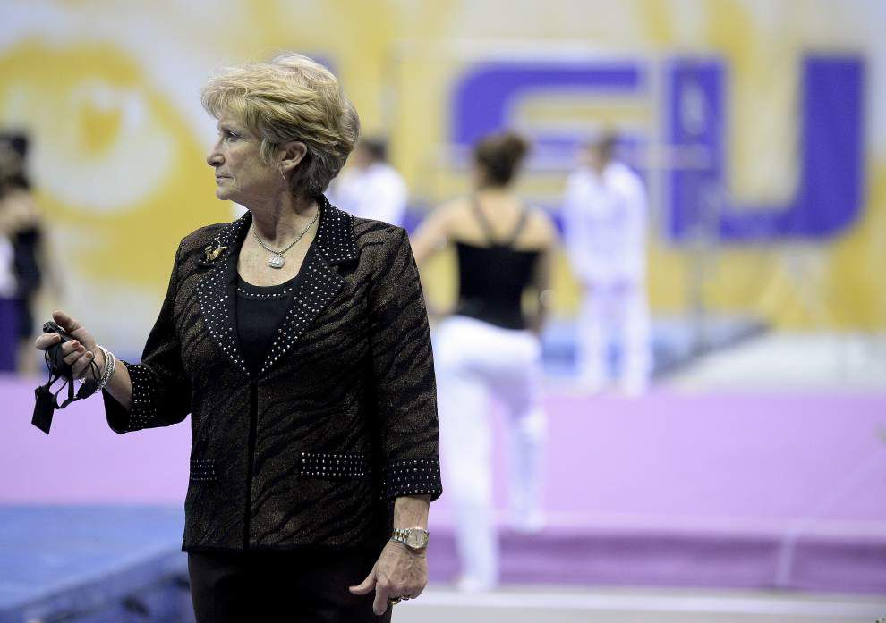 In the face of last year's failure, D-D Breaux and her LSU gymnastics team were undeterred _lowres