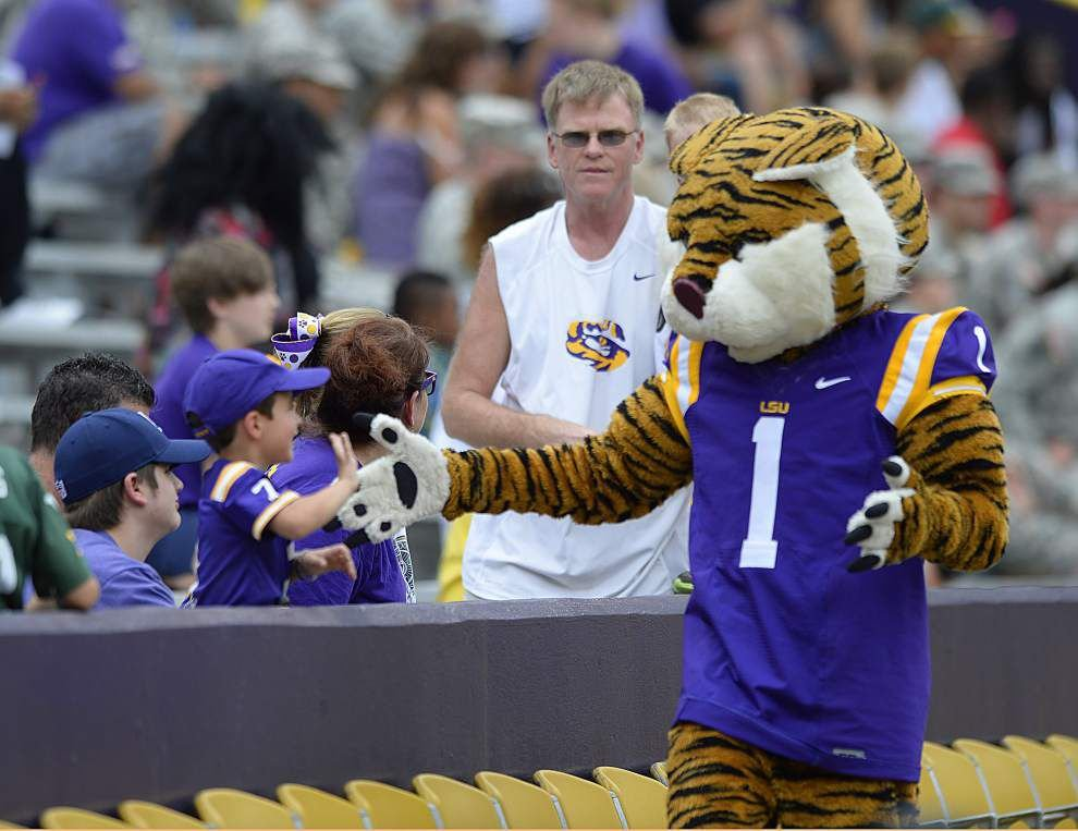LSU spring game: Three and out _lowres