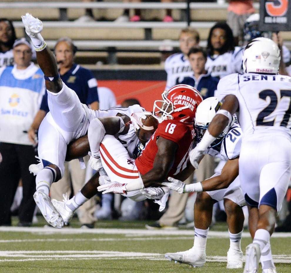 Ragin' Cajuns falter against Akron at home; Coach Mark Hudspeth notes new team facility 'distraction' for young squad _lowres