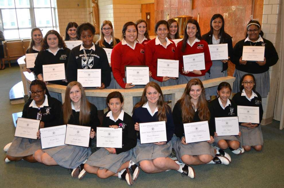 St. Mary's Dominican High School scholarships awarded _lowres