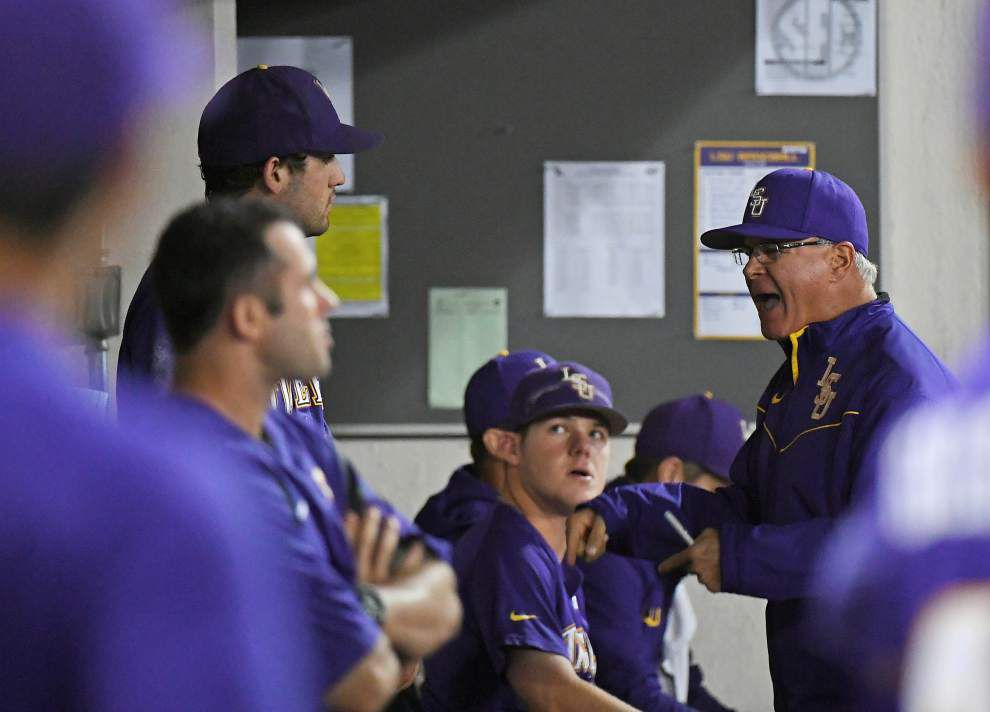 'It's disappointing': LSU, Notre Dame set for 14-inning doubleheader after rain washes out Tuesday _lowres