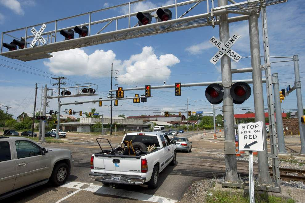 Feds: This Baton Rouge railroad crossing one of nation's most crash-prone _lowres