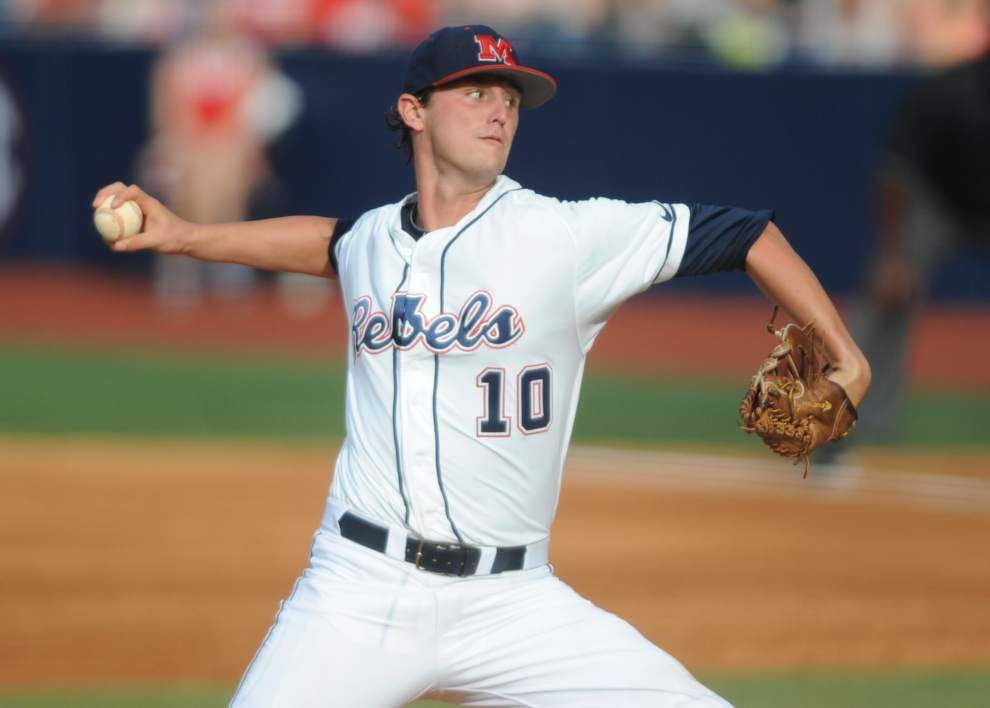 Lafayette super regional: Saturday's pitching matchup _lowres