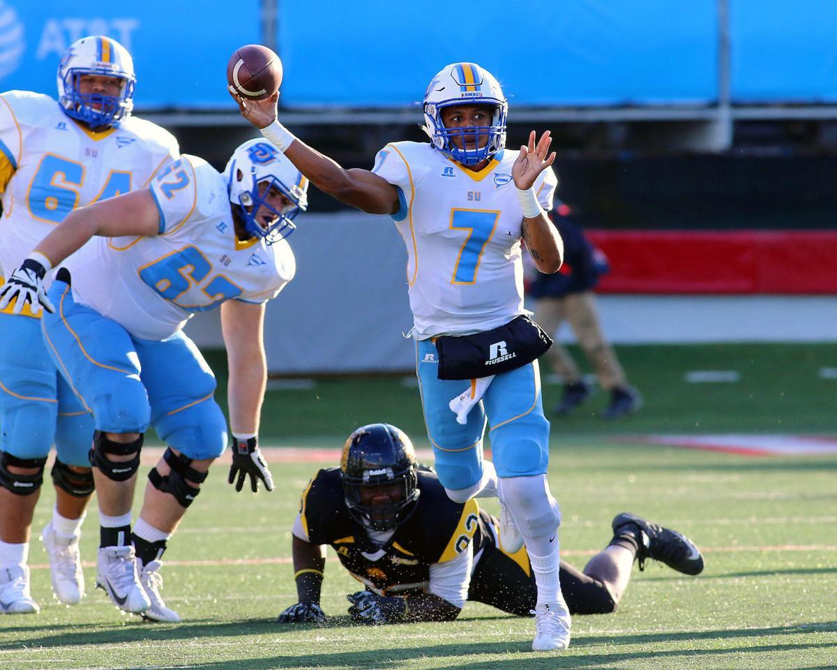 SU beats UAPB 47-40 in college football