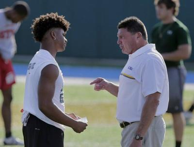 Ed Orgeron now sees early signing period as an 'advantage' for LSU