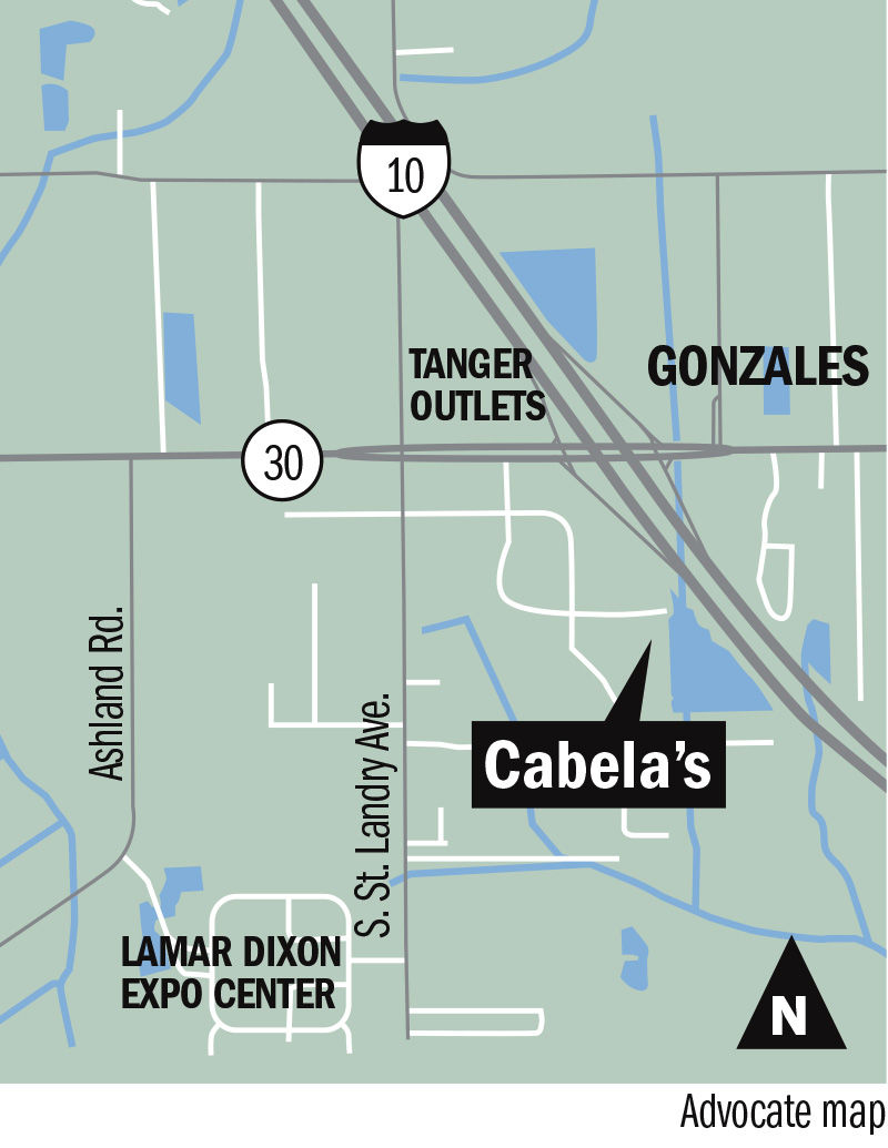 Cabelas Store Map on
