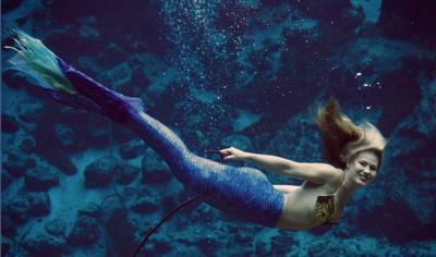 Weeki Wachee Mermaids return to Audubon Aquarium_lowres