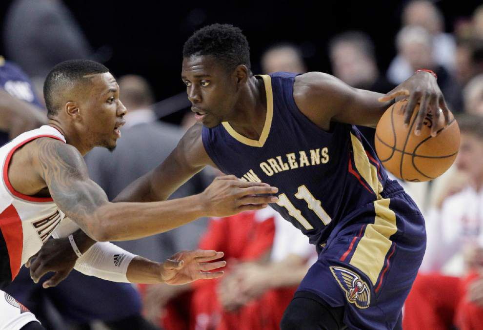 Pelicans' Jrue Holiday confirms no surgery necessary for leg _lowres