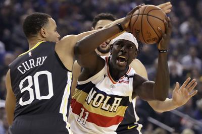 Pelicans Warriors Basketball