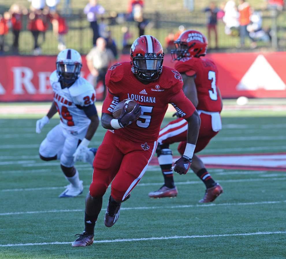 Johnson: Elijah McGuire leads the way as the Cajuns hold off South Alabama _lowres