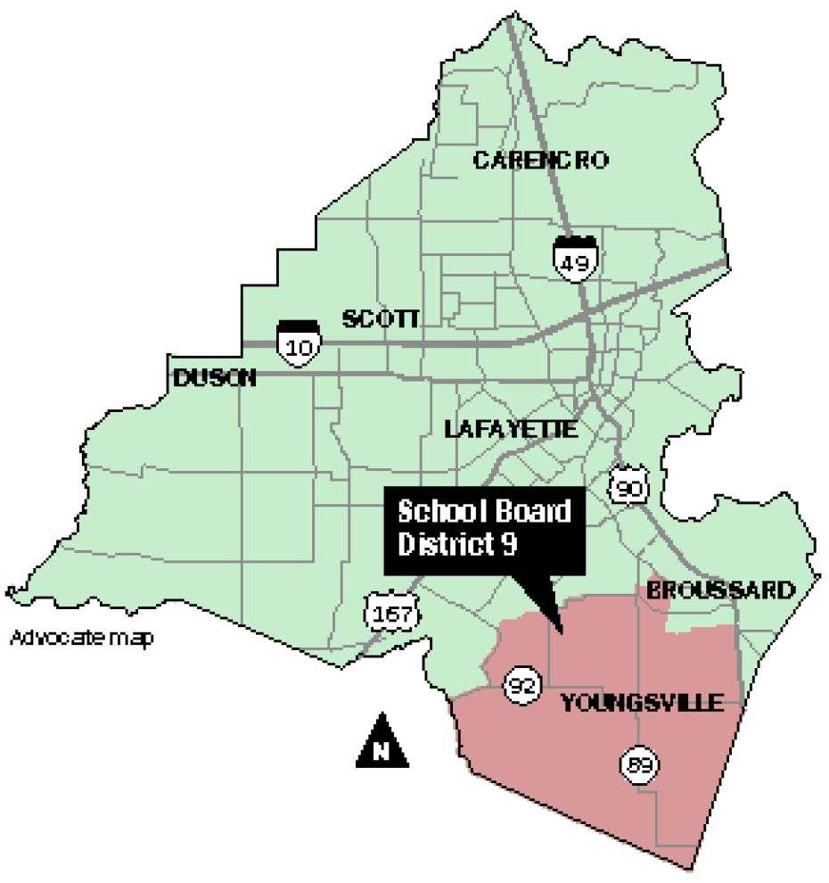 Hidalgo, West got early start on Lafayette school board race _lowres