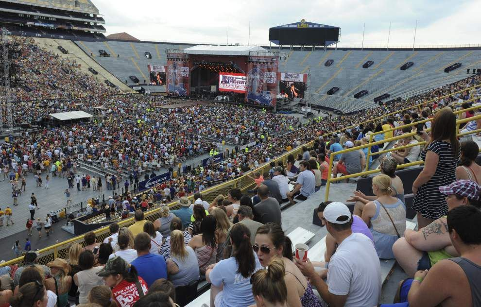 Plenty of tickets left for Bayou Country Superfest as it faces big competition in 'oversaturated' market _lowres