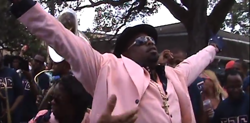 Second line Sunday: Goodfellas Social Aid and Pleasure Club_lowres