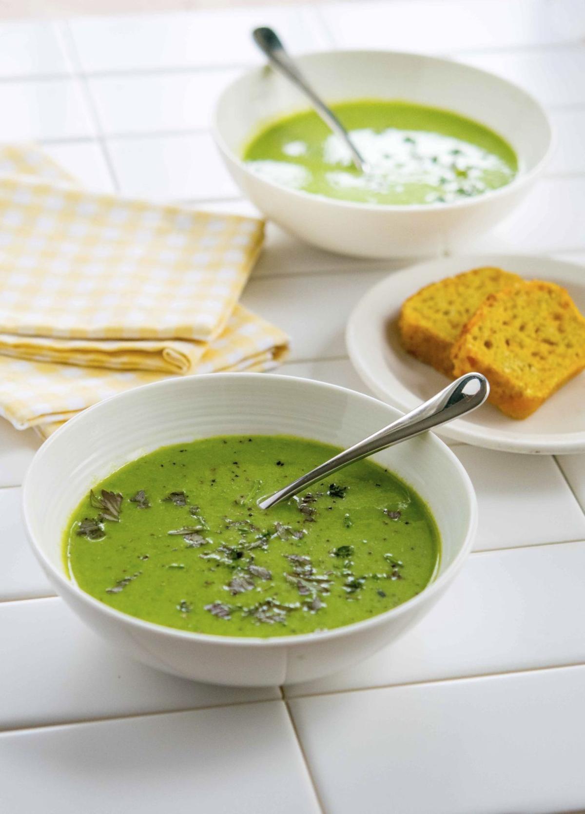 Asparagus Soup (c) Tom Hirschfeld.jpg
