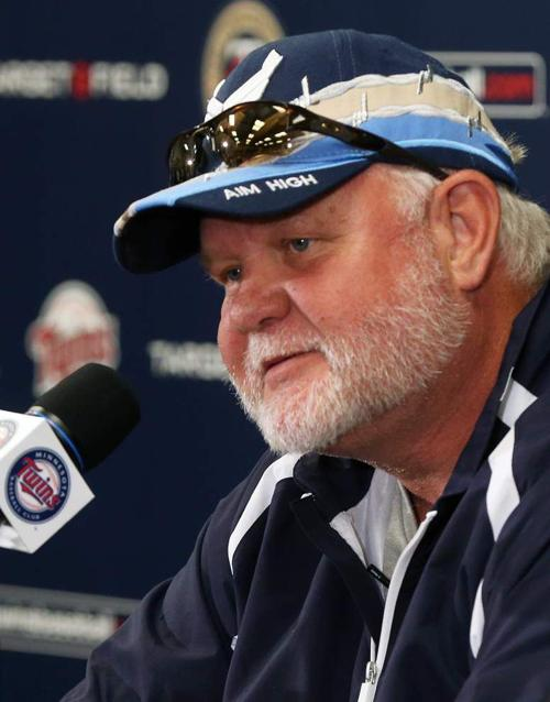 MINNEAPOLIS — The Minnesota Twins have fired manager Ron Gardenhire after 13 seasons that included at least 92 losses in each of the last four years. The move was made Monday, ending the second-longest active tenure in the major leagues behind Mike Scioscia of the Angels. Gardenhire played an integral role in the franchise's renaissance, guiding the Twins to their first of six American League Central division titles in 2002 in his first season on the job. But Gardenhire's teams only got out of the first round once in those six trips. Gardenhire had one year left on his contract. Tom Kelly suffers stroke MINNEAPOLIS — The Minnesota Twins said former manager Tom Kelly is recovering after suffering what the team calls a minor stroke last week. Twins general manager Terry Ryan says he spoke to Kelly on Monday. Kelly told Ryan that he was briefly hospitalized after the stroke, but doctors have told him that he should make a full recovery. Kelly has done some broadcast work during the team's games in recent seasons and has long been a special instructor in the minor leagues for the organization. He managed the Twins from 1986 to 2001 and led the team to World Series championships in 1987 and 1991. Umpiring crews named NEW YORK — Umpires Gerry Davis and Joe West will be the crew chiefs for the wild-card games this week. Major League Baseball on Monday announced the assignments for the early-round matchups. Davis has worked 122 postseason games, more than any other umpire. He'll handle the Oakland at Kansas City game Tuesday night, along with James Hoye, Dan Iassogna, Bill Miller, Todd Tichenor and Bill Welke. West tops all active umpires with 37 years in the majors. He'll work San Francisco at Pittsburgh on Wednesday night with Doug Eddings, Paul Emmel, Andy Fletcher, Brian Gorman and Mark Wegner. Ted Barrett will be in charge when the AL wild card visits the Los Angeles Angels in the division series Thursday. The crew includes Lance Barksdale, Chris Guccione, Paul Nauert,