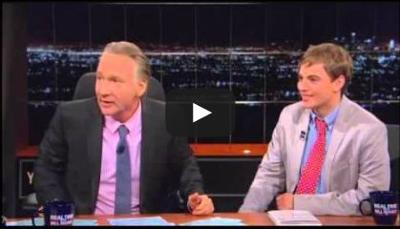 WATCH: Louisiana science activist Zack Kopplin on Real Time With Bill Maher_lowres