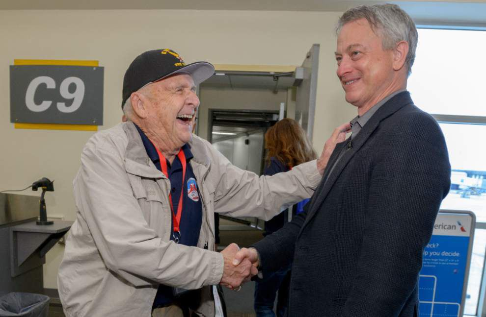 Photos, Video: Gary Sinise Foundation's 'Soaring Valor' program brings WWII veterans to New Orleans _lowres