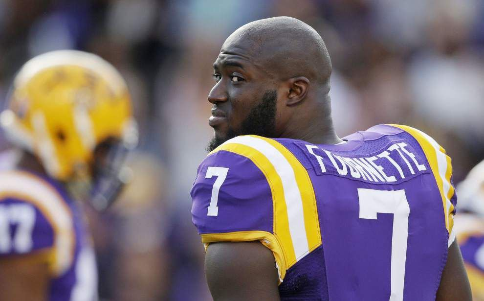 LSU RB Leonard Fournette surprised even coach Les Miles with plans to donate jersey _lowres