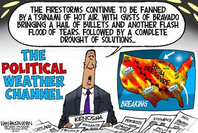 Walt Handelsman: Foreboding Forecast